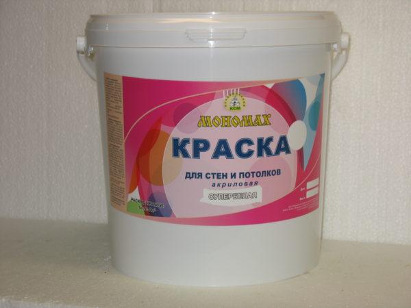 краска для стен и потолков Мономах Standart 7 кг
