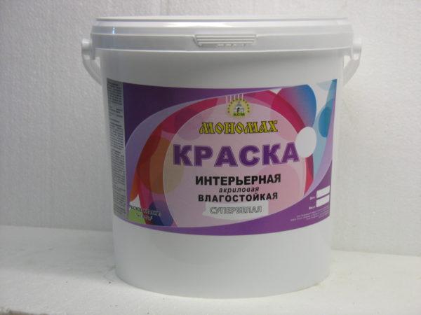 акриловая краска Мономах 40 кг