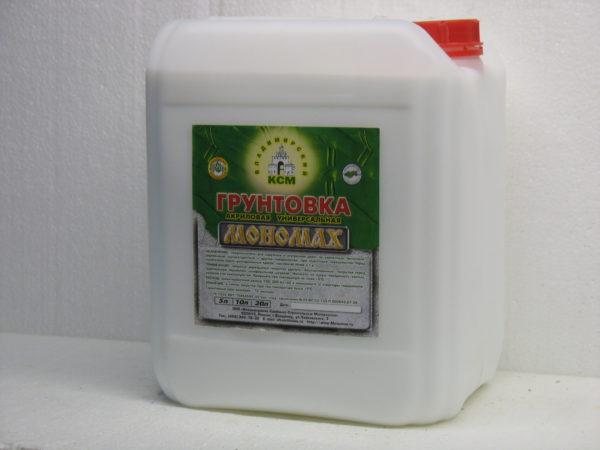 акриловая универсальная Мономах Standart 10 литров