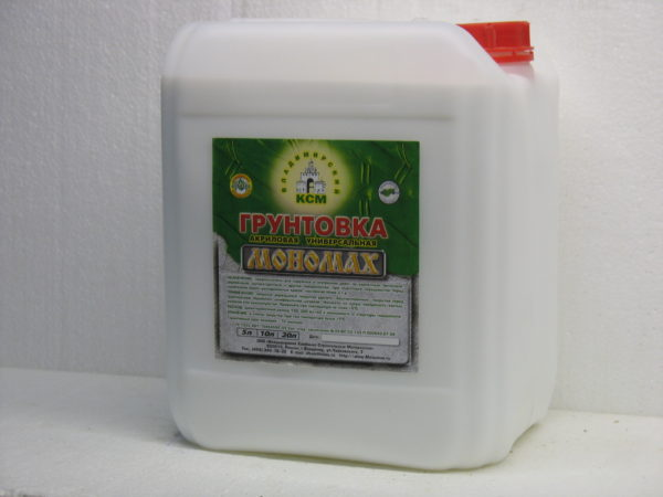 акриловая универсальная Мономах Standart 5 литров