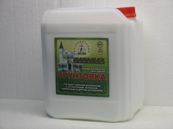 акриловая фасадная Мономах Premium 10 литров