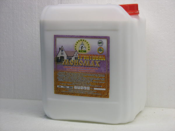 акриловая фасадная Мономах Standart 20 литров