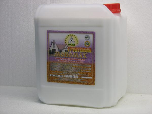 акриловая фасадная Мономах Standart 5 литров