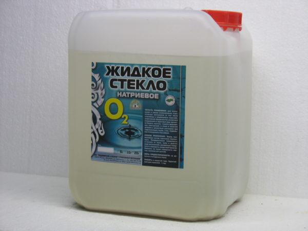 стекло Мономах О 2 Эконом 5 литров
