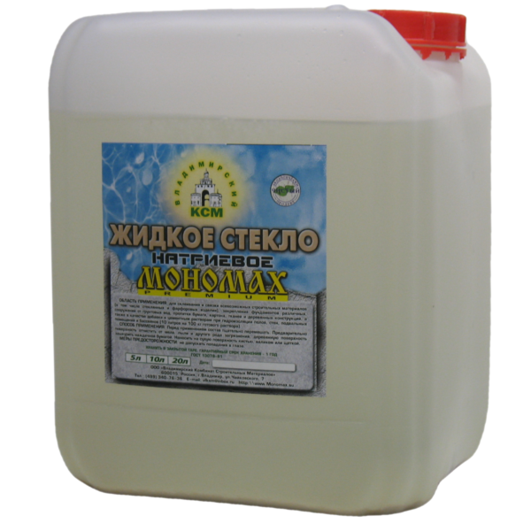 стекло Мономах Premium 10 литров