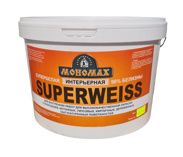 Интерьерная Superweiss супербелая 14кг