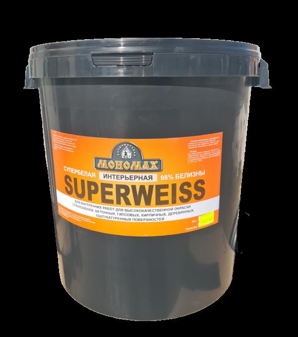 Интерьерная Superweiss супербелая 40кг