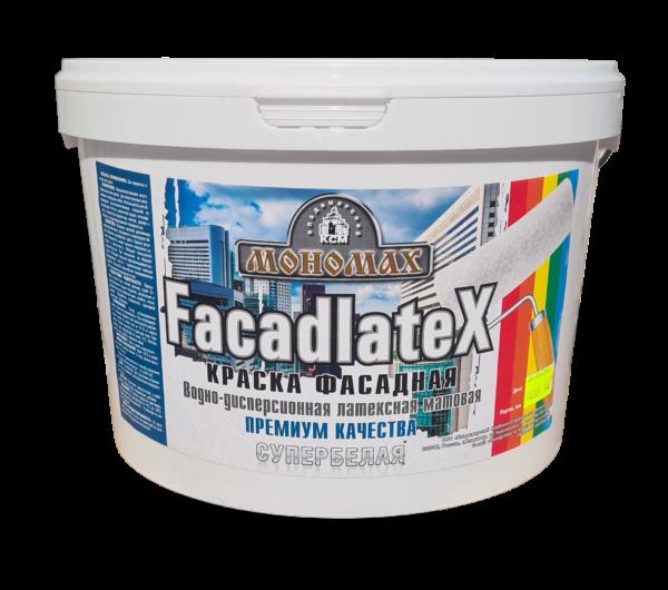 Фасадная Facadlatex супербелая 14кг