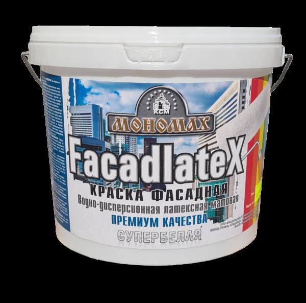 Фасадная Facadlatex супербелая 7кг